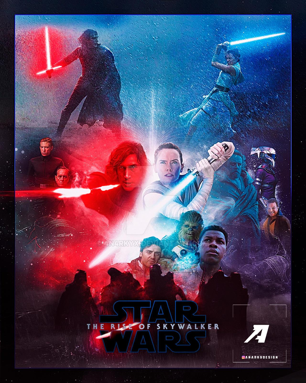 Poster Star Wars The Rise Of Skywalker By 4n4rkyx On Deviantart