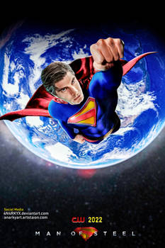 Poster: Man of Steel | CW | Brandon Routh