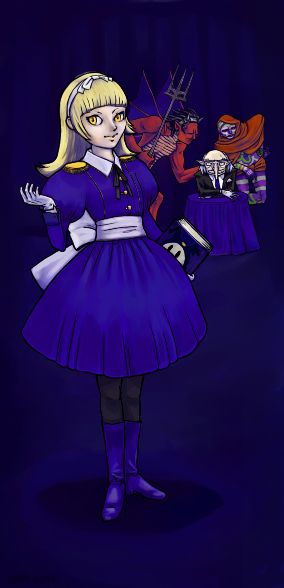 Alice in the Velvet Room by matildarose