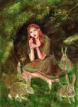 The Girl Who Lived Among Rabbits