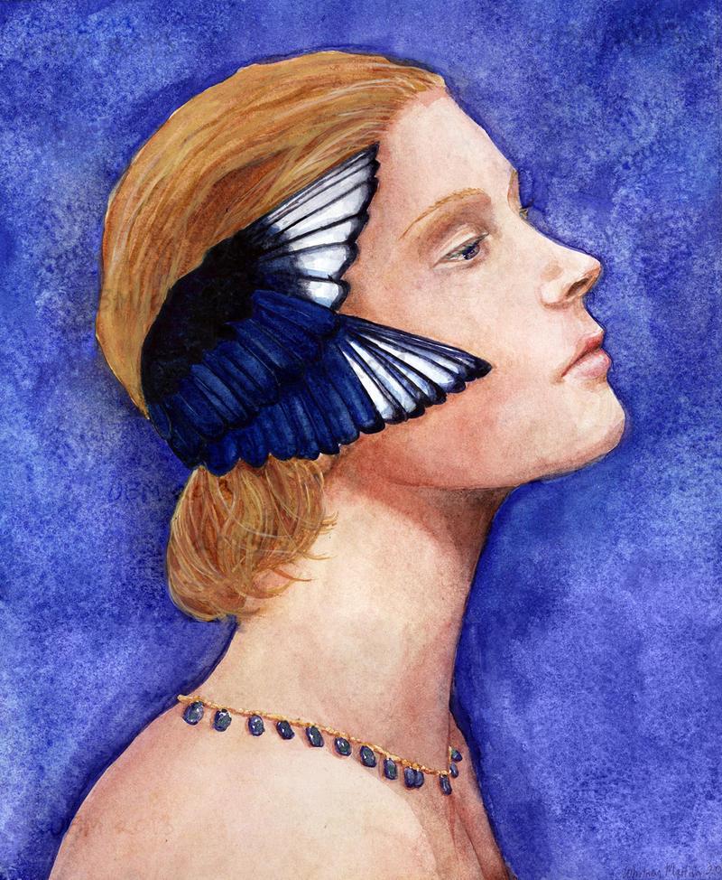 Sonata in Blue by matildarose