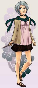 (OC Commission) Miwa Saitou by matildarose