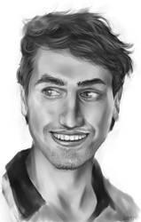 Digital Portrait Study 1 by matildarose