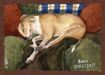 11/2017 Rosco Memorial Watercolor by matildarose
