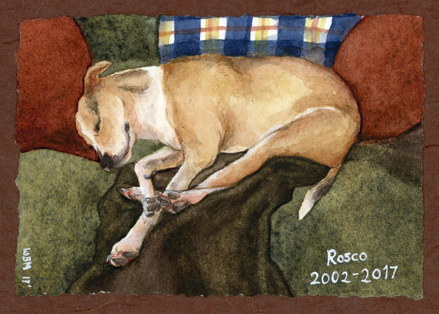 11/2017 Rosco Memorial Watercolor