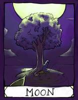 Moon by matildarose