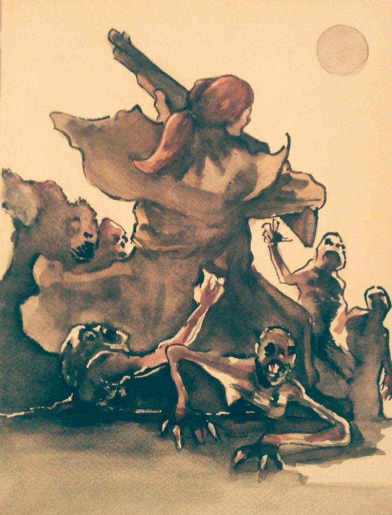 Le cimetiere du diable by latard on deviantart for Le miroir du diable