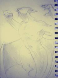 Gargoyle study by latard