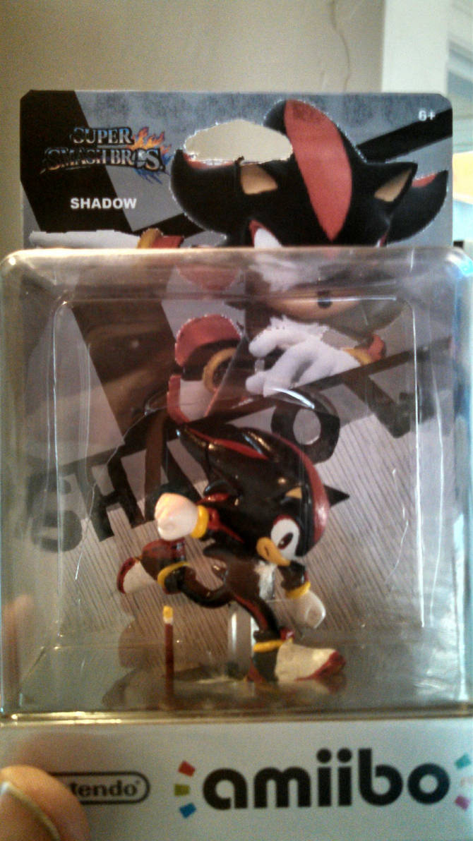 Shadow The Hedgehog Custom Sonic Amiibo By Drag0nher0 On Deviantart