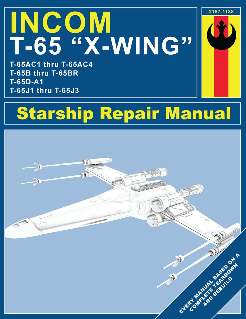 x wing repair manual by cgoodrich on deviantart Tranmission Shop Manuals For Tranmission Shop Manuals For
