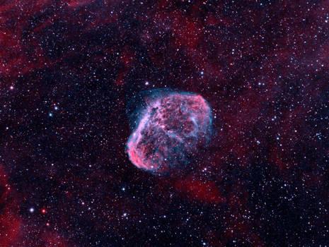 NGC 6888 - Crescent Nebula (Narrowband)