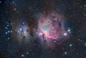 M42 - Orion Nebula (RGB)