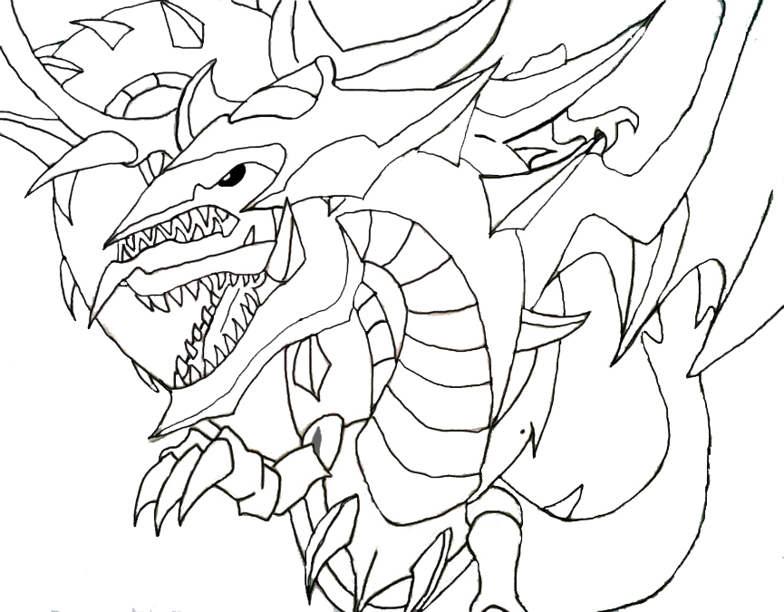 Oblisk The Tormentor Free Colouring Pages