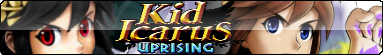 Kid Icarus Uprising Fan Button
