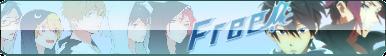 Free! - Iwatobi Swim Club Button