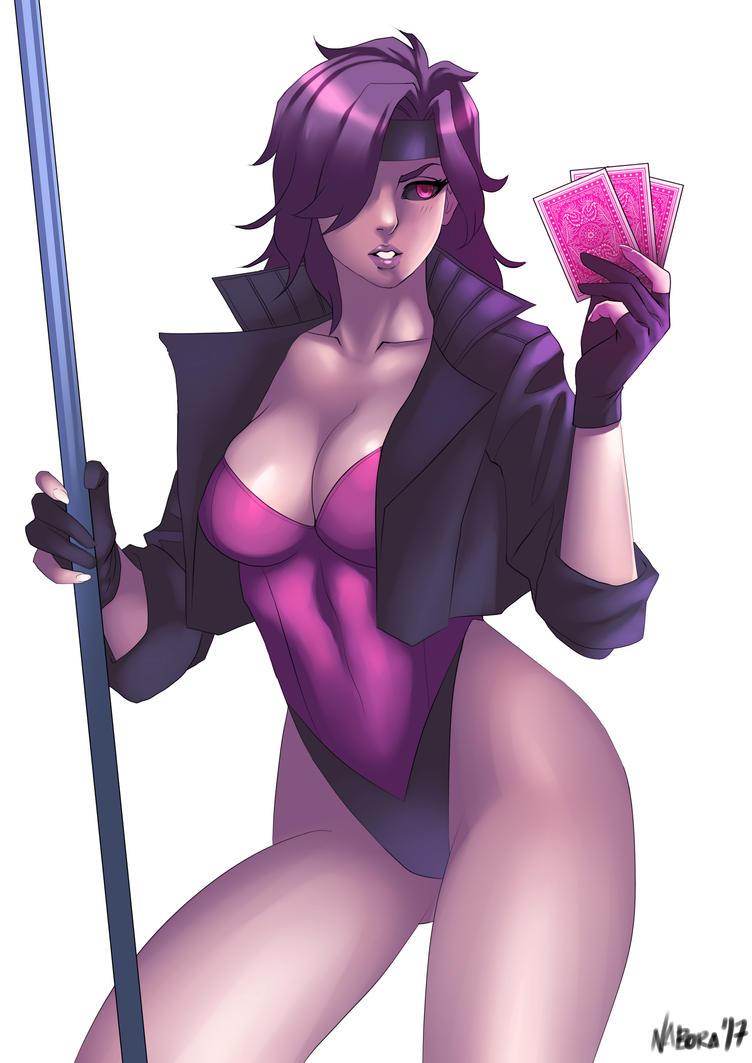 Gambit (Genderbend) by vimcarlo