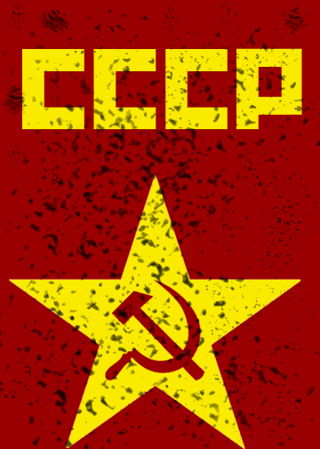 Soviet Union in Red