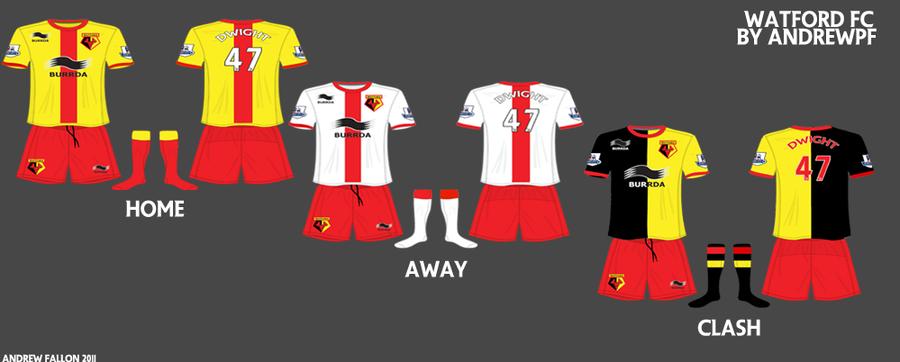 Watford FC Concept Kits By Botulizard On DeviantArt