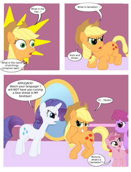 Applejack's foul mouth
