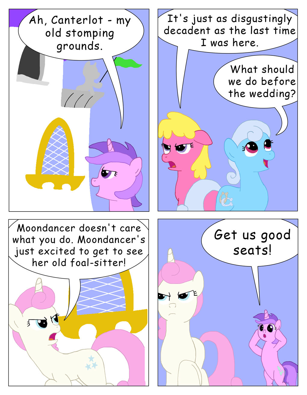 My Little Big Fat Changling Wedding 3 by T-Brony