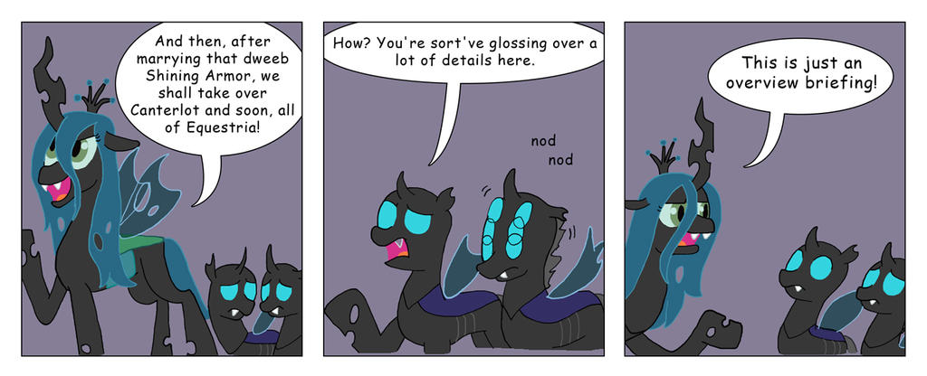 My Little Big Fat Changling Wedding 4 by T-Brony
