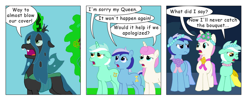My Little Big Fat Changling Wedding 12 by T-Brony