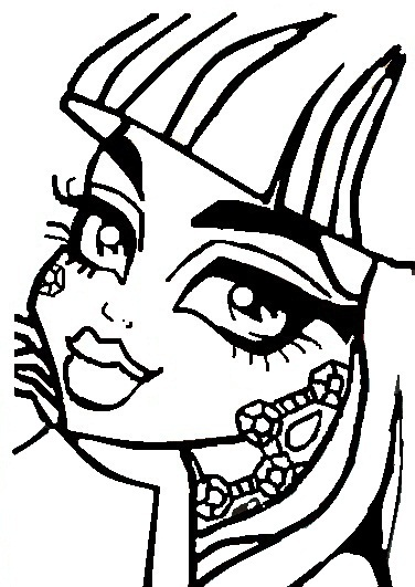 Monster High Coloring Page by rini12 on DeviantArt
