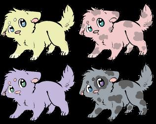 Cute Chibi Puppy Adopts {Closed} by UnicornDrawsXX