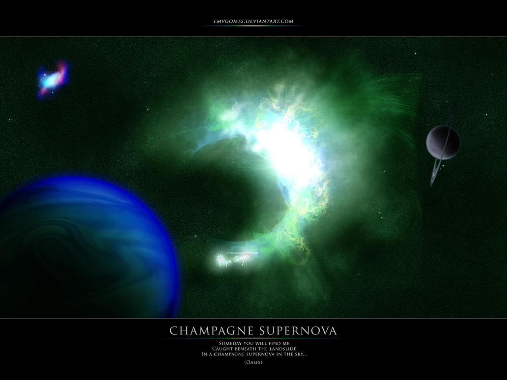 champagne supernova space - photo #23