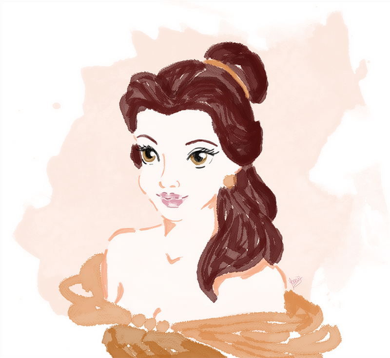 Princess Belle by xXChibiRukiaXx