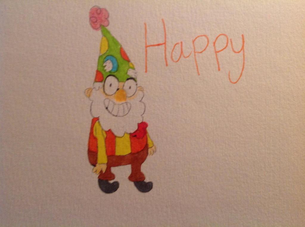 Happy by coralinefan4ever