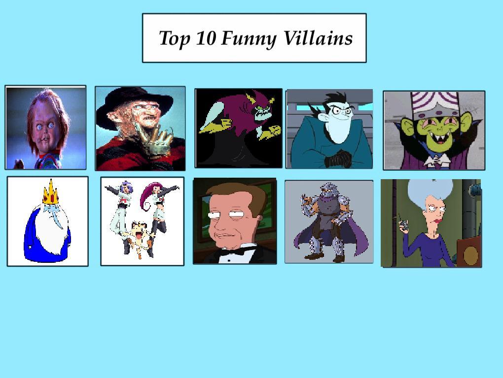 Top 10 Funny Villains Meme