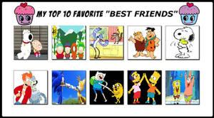 Top 10 Favorite Best Friends