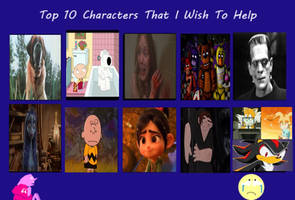 Top 10 Characters That I Wish to Help by Eddsworldfangirl97