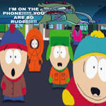 South Park boys interrupts Star on the phone