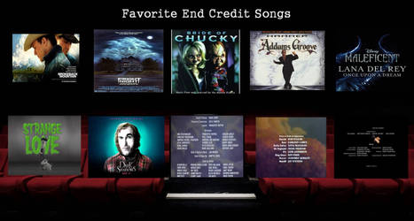 Top 10 End Credits Songs