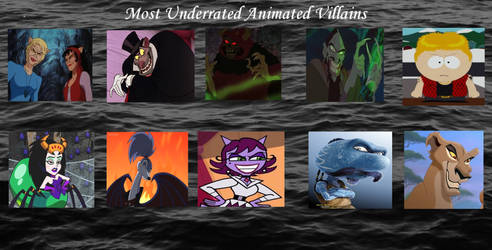 Top 10 Underrated Animated Villains