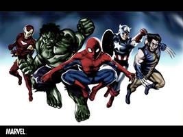 Marvel by TonyDennison