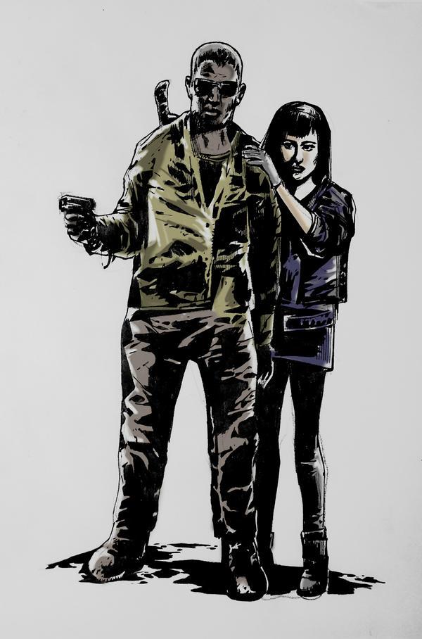 Eli and Solara by TonyDennison