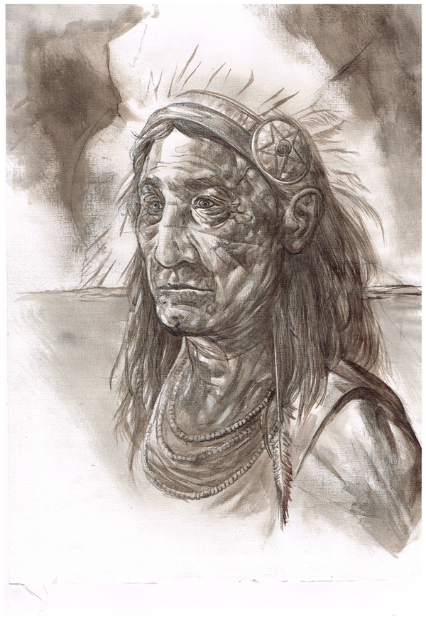 Native American by TonyDennison