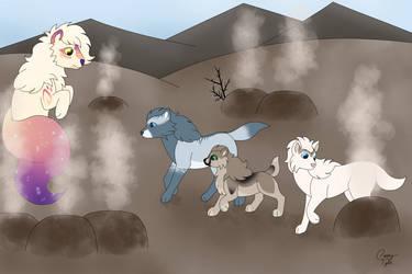 Crossing the Geyser Field [RoF]