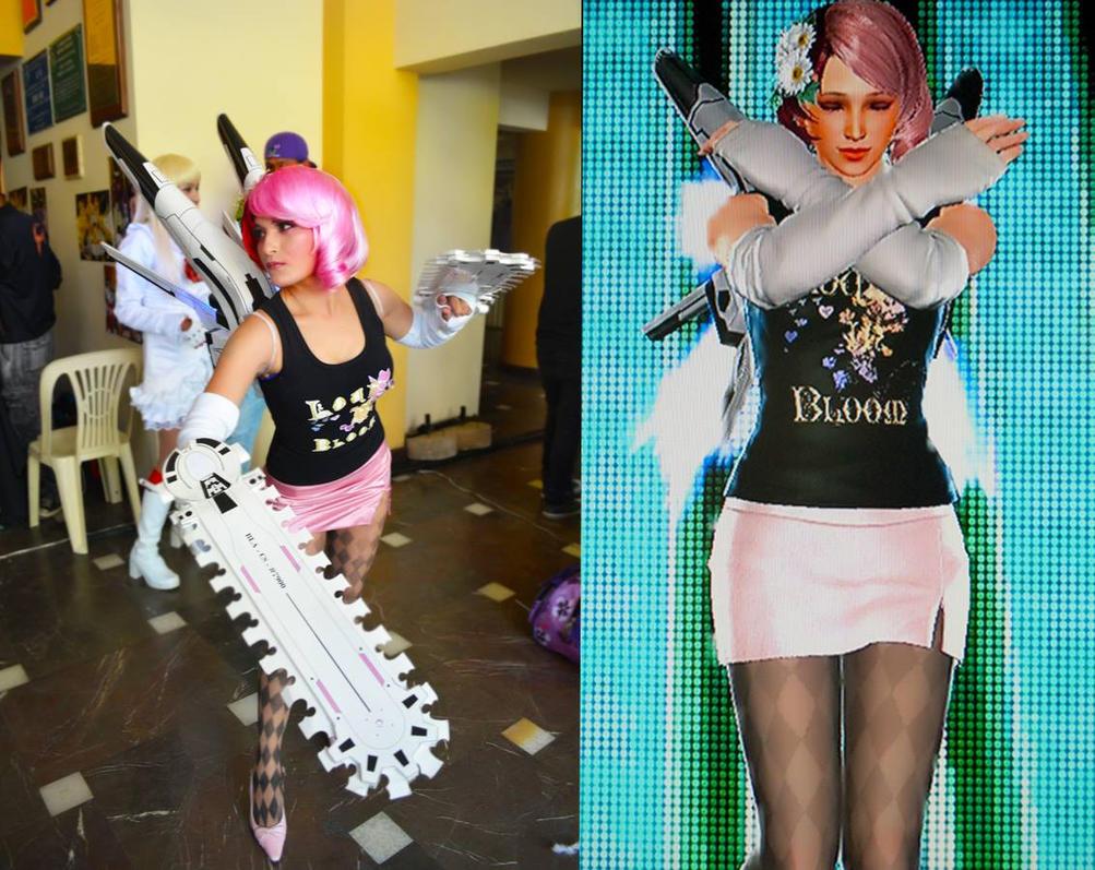 alisa bosconovitch cosplay  tekke tag tournament 2 by djlenser