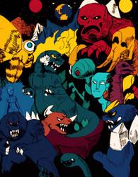 Godzilla Monster of monsters [Creepypasta] by Dokuromah