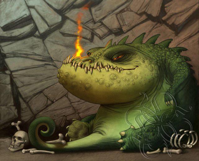Dragon by donseeg