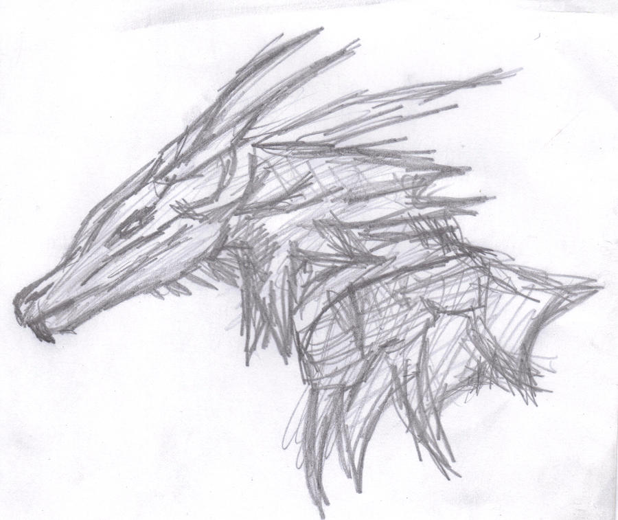 Dragons head by MappyPam on DeviantArt