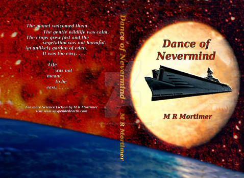 Novel cover - Dance of Nevermind by M R Mortimer