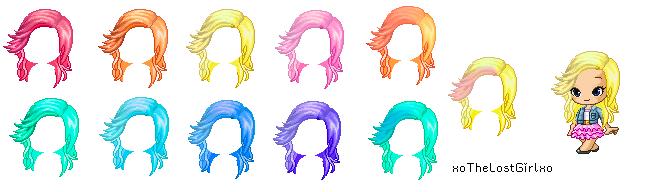 Hair Custom 2 by xoTheLostGirlxo