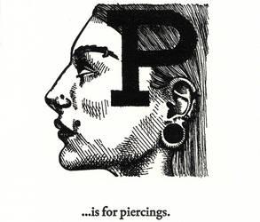 P is for Piercings... by scheherazade