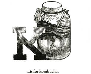 K is for Kombucha by scheherazade
