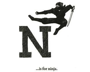 N is for Ninja by scheherazade